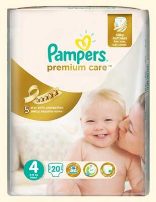 Подгузники Pampers Premium Care Maxi (8-14 кг) 20 шт