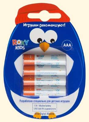 "Батарейки ""Пингвин"" AАA Ultra Digital Premium (4 шт) Roxy-Kids"