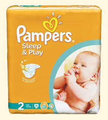 Подгузники Pampers Sleep & Play Mini (3-6 кг) 18 шт