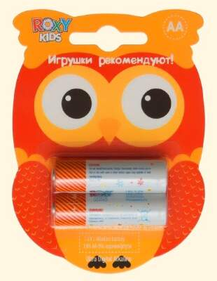 "Батарейки ""Сова"" AA Ultra Digital Premium (2 шт) Roxy-Kids"